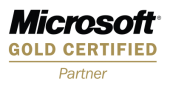 Microsoft certified Gold Partner 微軟認證金牌合作夥伴